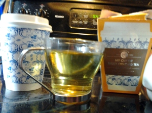 Cup of Milky Oolong