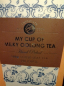 My cup of Milky Oolong