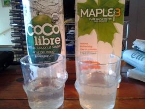 maple water vs. coconut water