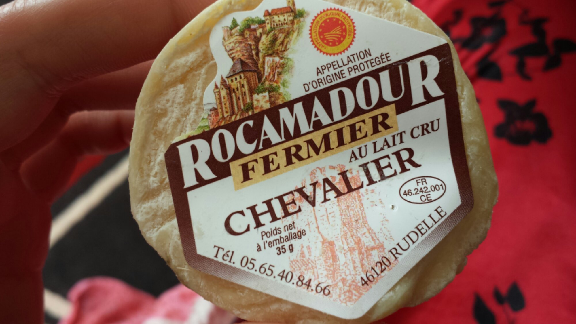 Rocamadour cheese